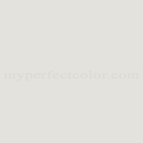 Color Match Of Porter Paints 7178 1 Platinum White