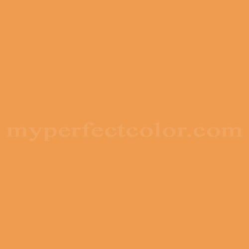 Color Match Of Porter Paints 10758 6 Pumpkin Orange