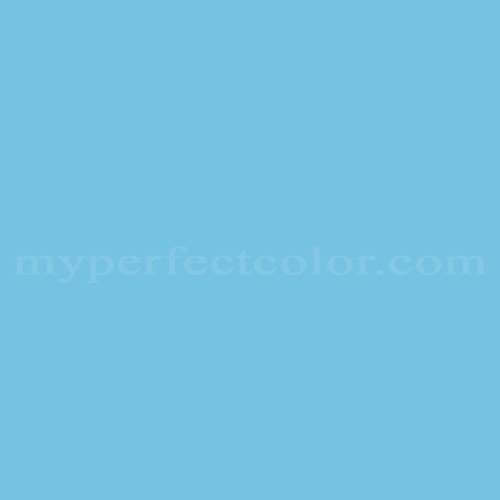 Color Match Of Porter Paints 15281 2 Regatta Blue