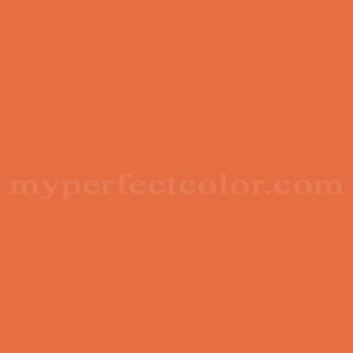 Porter Paints 6114 7 Ripe Papaya Match Paint Colors