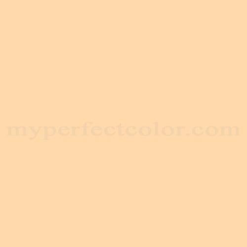 Color Match Of Porter Paints 10721 3 Pale Orange