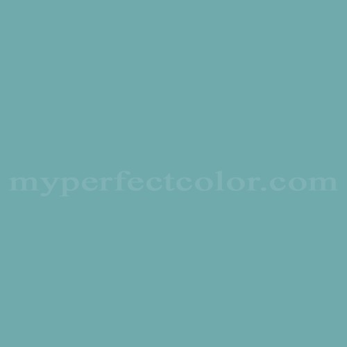 Color Match Of Porter Paints 6388 2 Paradise Blue