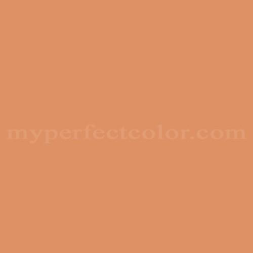 Color Match Of Porter Paints 6119 5 Melon Orange