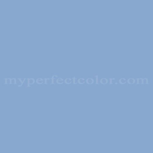 Color Match Of Porter Paints 6514 3 Island Blue
