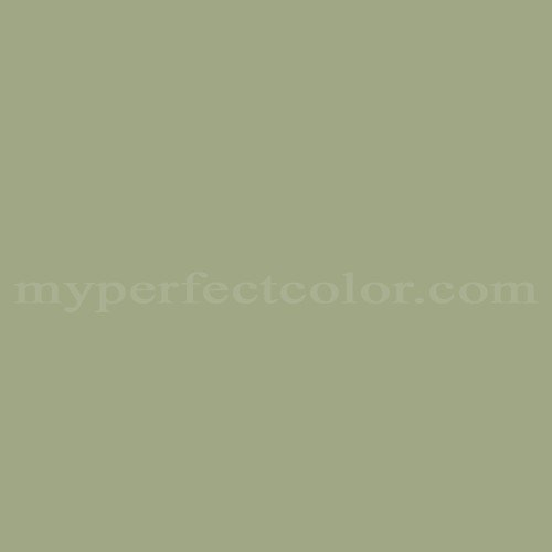 Color Match Of Porter Paints 14344 3 Light Sage Green