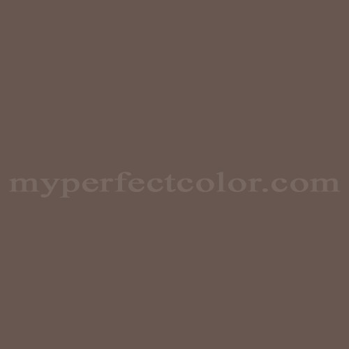 Color Match Of Porter Paints 6672 2 Brown Taupe