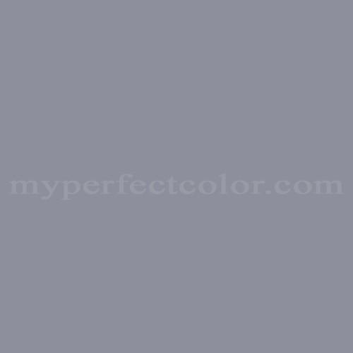 Color Match Of Premier Paints T166 6 Lavender Gray
