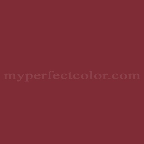 Color Match Of Ralph Lauren Co07d Barn Red