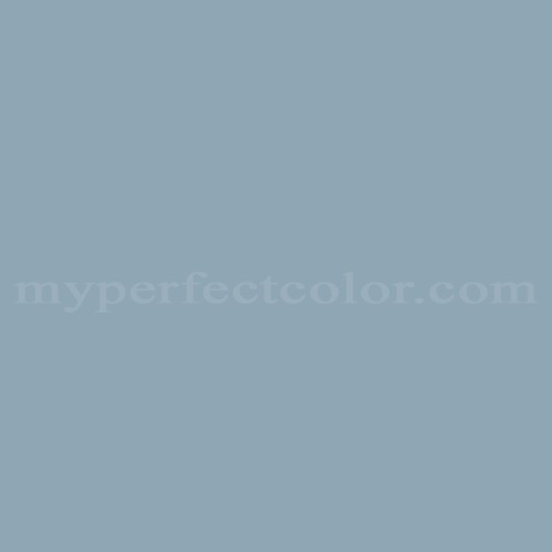 Color Match Of Rodda Paint 606 Blue Sage