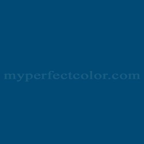 Color Match Of Scheuder Holland 4003 Delft Blue