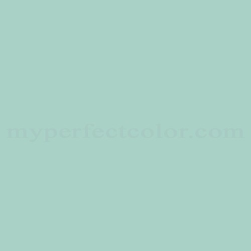 Color Match Of Sico 4021 31 Ocean Green