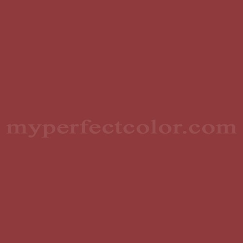 Color Match Of Sherwin Williams SW6321 Red Bay