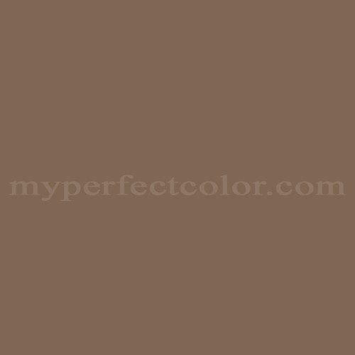 Color Match Of Sherwin Williams Sw2055 Outback Brown