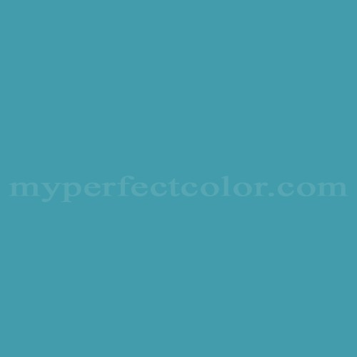 Color Match Of Taubmans W43 Lake Blue