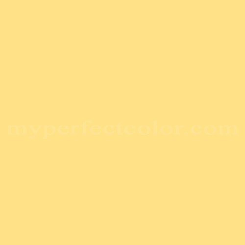 Color Match Of Valspar 200B 3 Canary Yellow