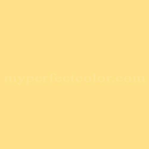 Color Match Of Valspar 200b 3 Canary Yellow