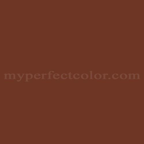 Color Match Of Wattyl He38 Rustic Brown