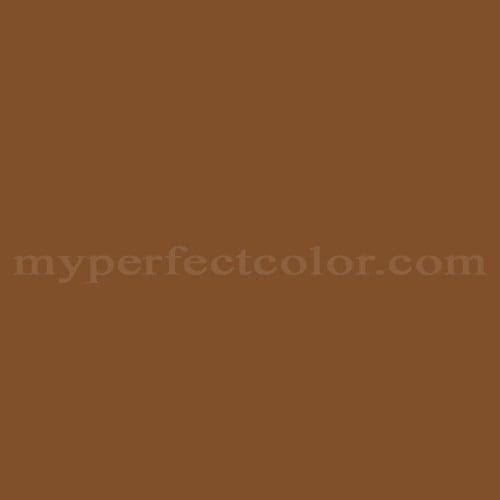 Color Match Of Wattyl He55 Saddle Brown