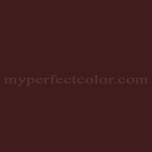 Color Match Of Wattyl HE8 Dark Crimson