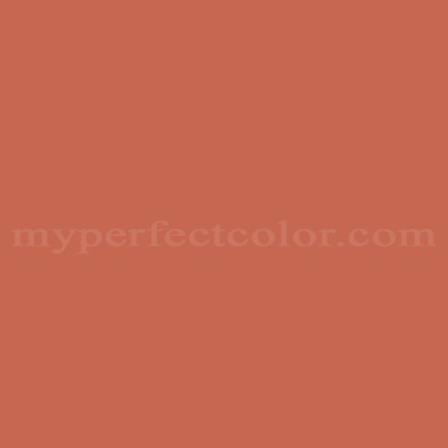 Color Match Of California Paints Clementine