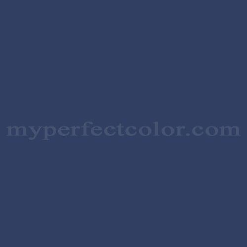 Color Match Of California Paints Newport Indigo