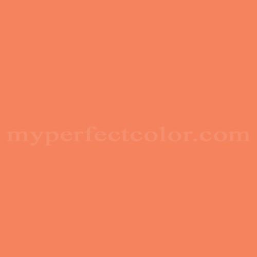 Color Match Of Ace 7 B Mango Tango