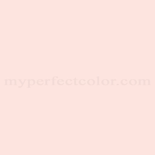 Color Match Of Behr 190a 1 Soft Pink