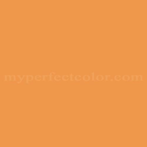 Color Match Of Behr 270b 6 Autumn Orange