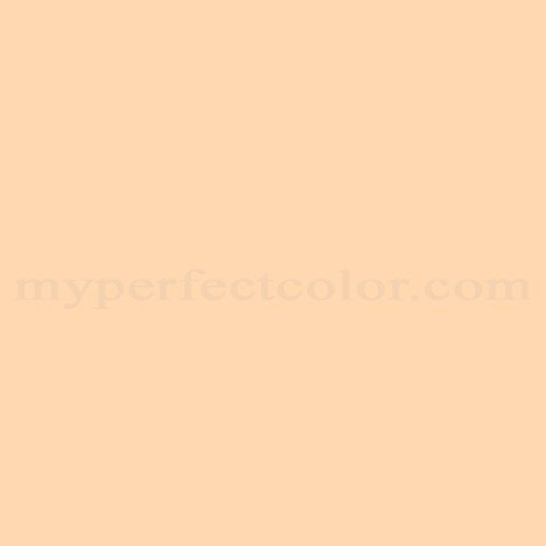 Painting Walls In Shades Of Melon: Behr 280A-3 Delicious Melon Match