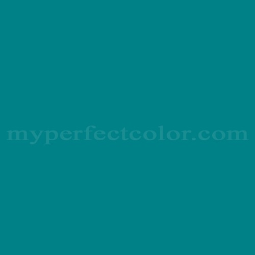 Color Match Of Behr 500b 7 Tucson Teal