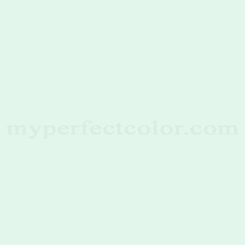 Color Match Of Behr 480c 1 Light Mint