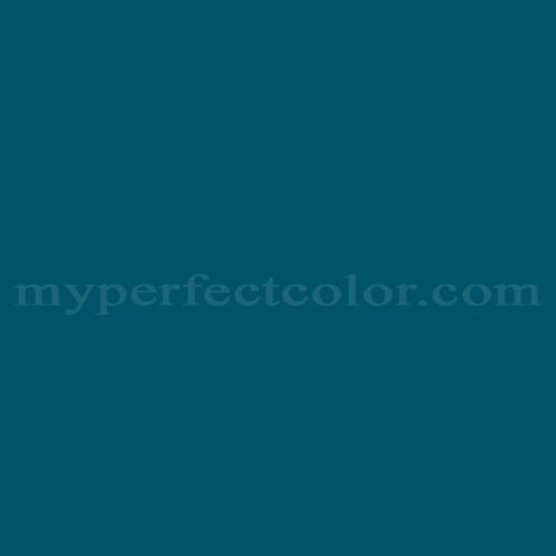 Color Match Of Behr 540d 7 Deep Blue Sea