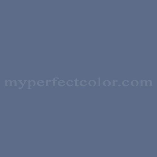 Color Match Of Behr 600f 6 Atlantic Blue
