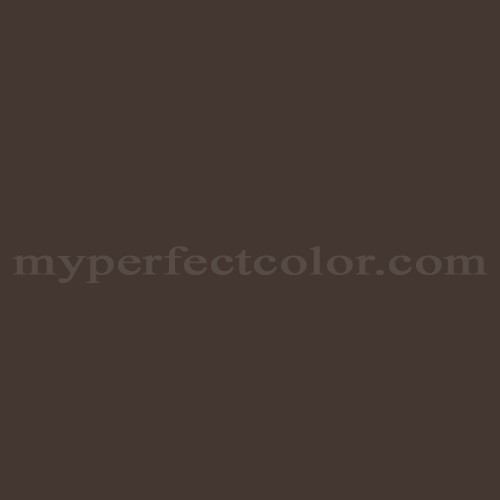 Color Match Of Behr 790b 7 Bitter Chocolate