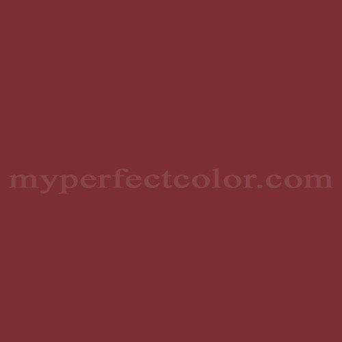 Color Match Of Behr S H 130 Red Wine