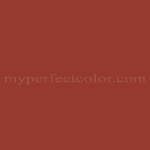 Color Match Of Behr S H 190 Antique Red