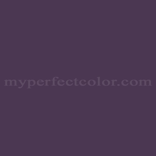 Color Match Of Behr S H 680 Purple Bloom