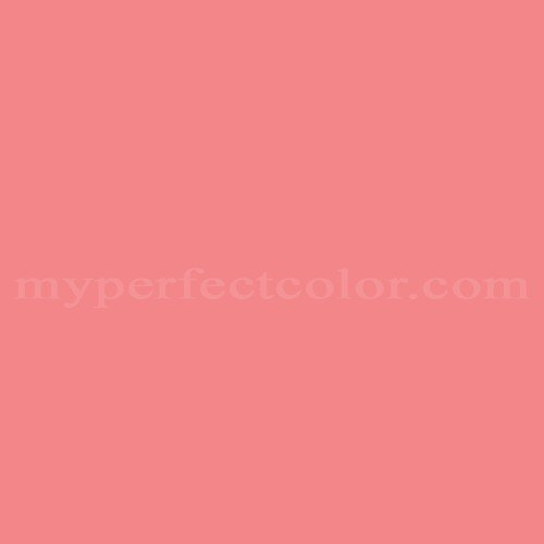 Nickelodeon Nk111 Coral Pink Match Paint Colors