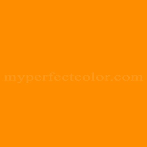 Color Match Of Valspar 95 3b Citrus Orange