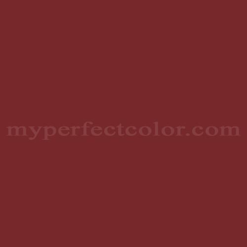 Valspar 95 13c Cherokee Red Match Paint Colors Myperfectcolor