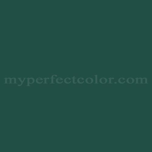 Color Match Of Valspar 95 35a Royal Hunter Green