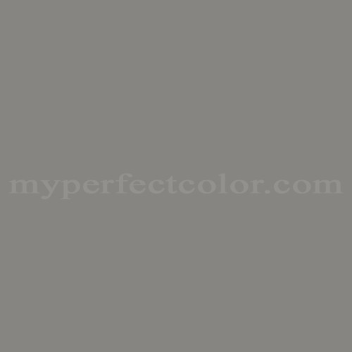 Color Match Of Sherwin Williams Sw4031 Structural Gray