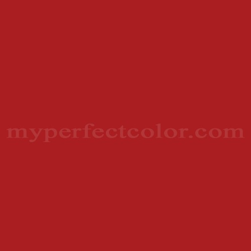 Color Match Of Sherwin Williams Sw4081 Safety Red