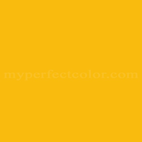 Color Match Of Sherwin Williams Sw4084 Safety Yellow