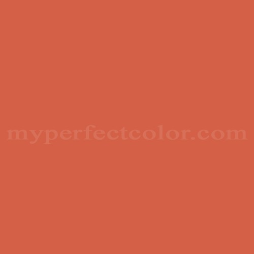 Color Match Of Ral Ral2017 Salmon Orange