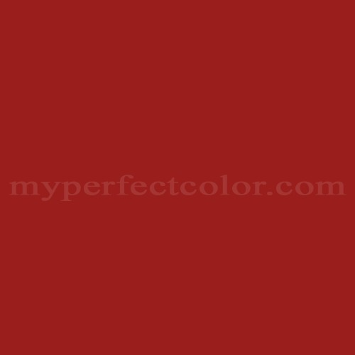 Color Match Of Ral Ral3002 Carmine Red