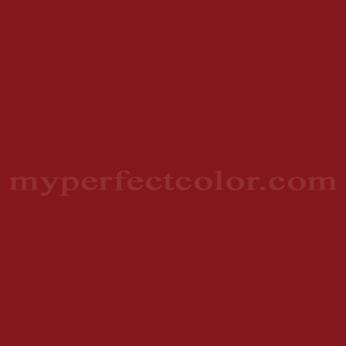 Color Match Of Ral Ral3003 Ruby Red