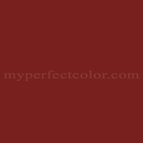 Color Match Of Ral Ral3011 Brown Red
