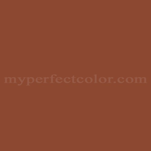 Color Match Of Ral Ral8004 Copper Brown