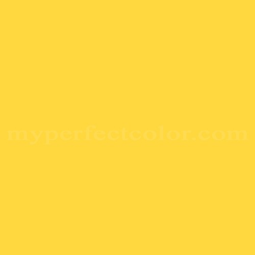 Color Match Of 91242 Lemon Yellow